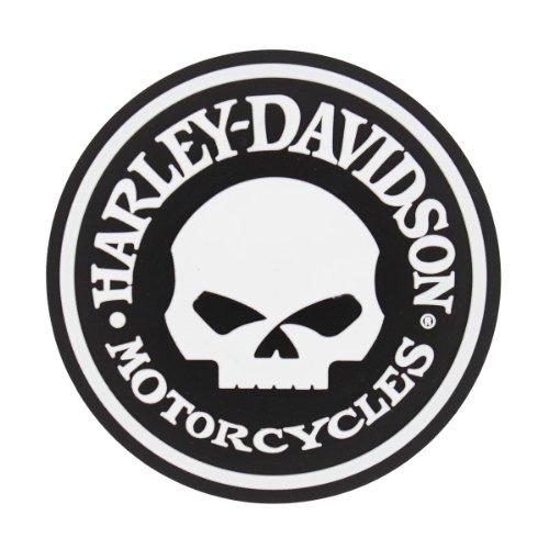 Harley-Davidson® Skull Coaster Set