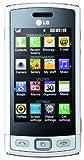LG GM360 Viewty Plus Smartphone (7,6 cm (3 Zoll) Display, Touchscreen, 5 Megapixel Kamera) pearl white