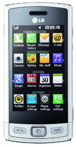 LG GM360 Viewty Snap blanc libre