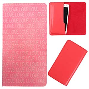 DooDa - For iberry Auxus Note 5.5 PU Leather Designer Fashionable Fancy Case Cover Pouch With Smooth Inner Velvet