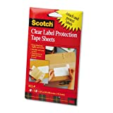 ScotchPad Label Protection Tape Pads, 4 x 6, 25/Pad, 2 Pads/Pack, Sold as 50 Sheet