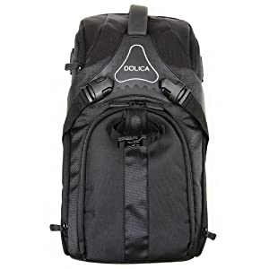 Dolica DK-20 Medium Travel Camera Backpack (Black)