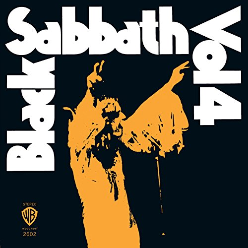 Black Sabbath - Vol. 4 (180 Gram Limited Opaque Orange Vinyl) - Zortam Music