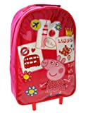 Trade Mark Collections Peppa Pig Wheeled Bag (Red)