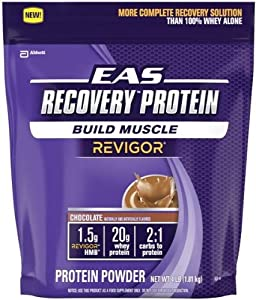 EAS Recovery Protein Powder, Chocolate, 4-Pounds