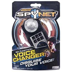 Spy Net Six Function Voice Changer