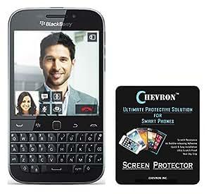 Chevron AquaShieldz Pro Ultra Clear Screen Guard Protector For Blackberry Q20