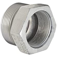 "Dixon Boss GB28 Plated Iron Hose Fitting, Spud for GJ Boss Ground Joint Seal, 2"" NPT Female"