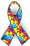 Lot of 12 Autism Awareness Ribbon Puzzle Lapel Pins