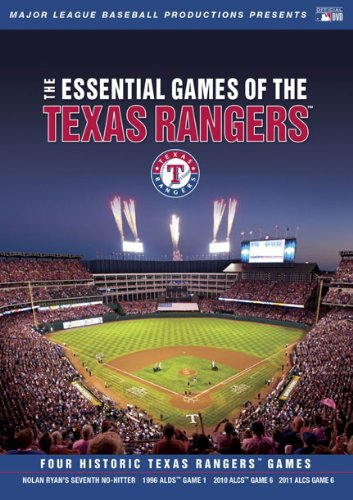 Cover art for  Essential Games of the Texas Rangers