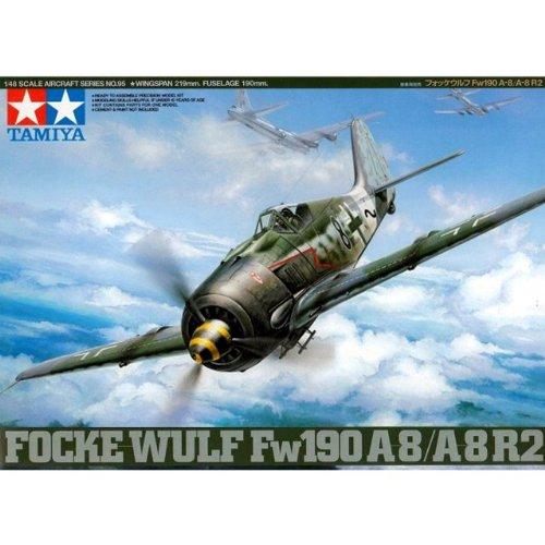 Tamiya - 61095 - Maquette - Focke Wulf FW190A-38 / A-8 R2 - Echelle 1:48