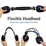 Gaming Headset, iXCC Surround Stereo Sound Noise Isolating Headphone with In-line Control for PC, MAC, Xbox One / S, PS4, VR, Playstation 4 or More