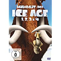 Ice Age 1, 2, 3 & 4 (Mammut-Box) [4 DVDs]