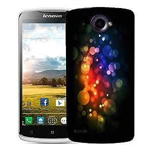 Snoogg Multicolor Bubbles Designer Protective Phone Back Case Cover For Lenovo S920