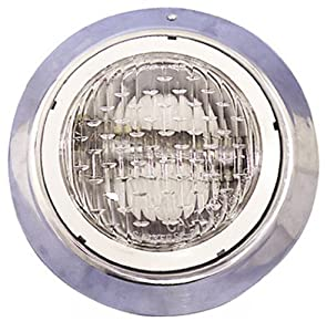 Pentair 78887800 1-Inch Hub Vinyl Liner Mounting Bracket Replacement AquaLumin III Pool and Spa Nicheless Light