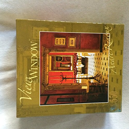 View Through The Window by Andre Renoux 550pc. Puzzle - En Rouge