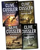 Clive Cussler Clive Cussler Isaac Bell Frago Adventures 4 Books Collection Pack Set The Spy, Spartan Gold , Lost Empire, The Race