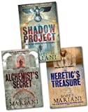 Scott Mariani Scott Mariani Collection 3 Books Set Pack RRP: £20.97 (The Shadow Project, The Alchemist's Secret, The Heretic's Treasure)
