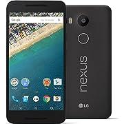 LG Nexus 5X Unlocked Smartphone – Black 32GB (US Warranty)