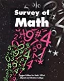Survey of Math:  Custom Edition for Math 103 at Bryant and Stratton College