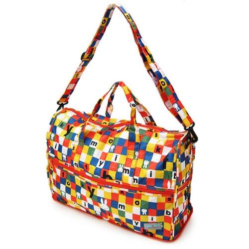 折りたたみボストンバッグ (エコバッグ/ショッピングバッグ) カラフル ブロックスマルチ miffy (ミッフィー)