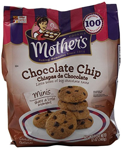 Mother's Chocolate Chip Cookies, 12-Ounce Bags (Pack of 4) (Chocolate Chips Gourmet compare prices)