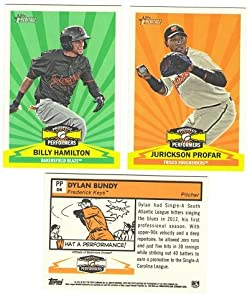 2012 Topps Heritage Minors Prospect Performers - BALTIMORE ORIOLES Team Set by Heritage