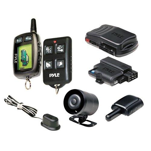 Pyle PWD901 LCD 2-Way Remote Start Security System with Advanced Impact Sensor