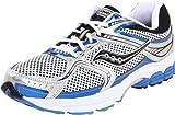 Saucony Men's Progrid Stabil CS 2 Running Shoe,White/Silver/Royal,8.5 M US