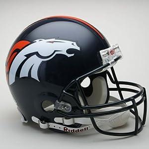Denver Broncos Full Size Authentic ProLine NFL Helmet by Riddell by JR Sports