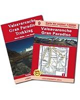 9 - Valsavarenche, Gran Paradiso 1:25.000 Carte et guide de randonnée GPS compatible