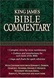 img - for King James Bible Commentary book / textbook / text book