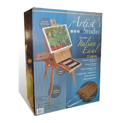 Portable Oil Paint Set