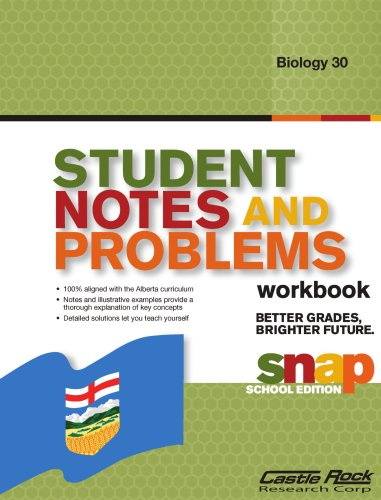 Student Notes and Problems Biology 30