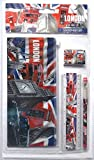 London Szenen mit Union Jack School Kit & Zubehör