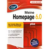 "Meine Homepage 6.0 Plusvon ""Data Becker"""