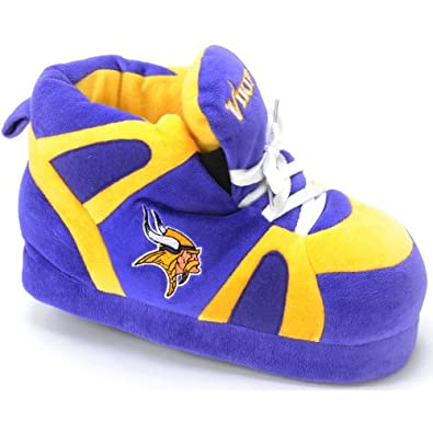 Minnesota Vikings UNISEX High-Top Slippers by Comfy Feet