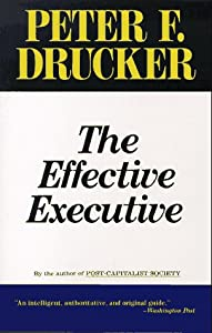 Cover of &quot;The Effective Executive&quot;