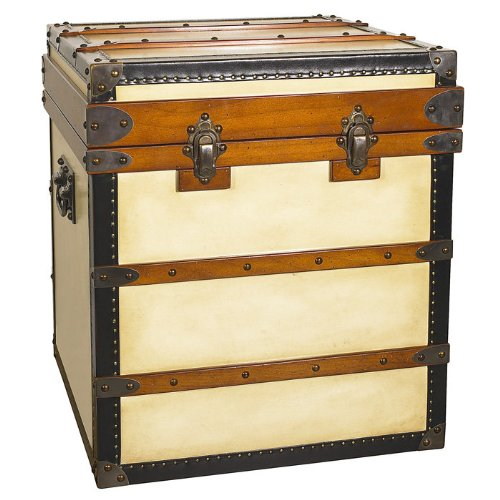 Image of Polo Club Trunk End Table (B009HLF0AI)