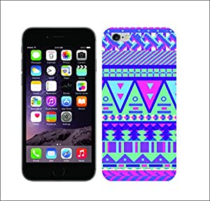 Galaxy Print Media Printed Multi-Coloured 1491 Candy Tribal Sugar Hard Cover For Apple Iphone 6