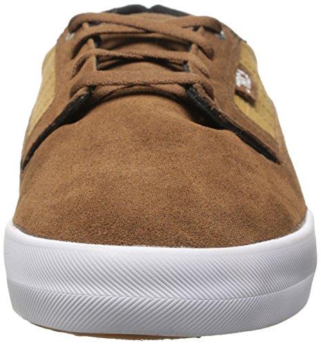 C1RCA Men's Lancer Skate Shoe, Espresso/White, 10 M US
