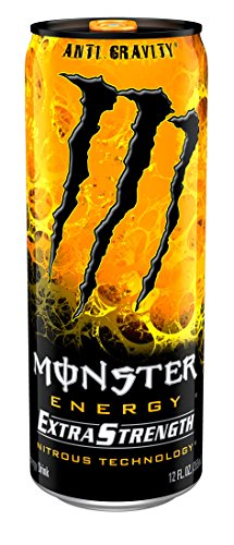 Monster Energy Extra Strength, Anti-Gravity, 12 Ounce (Pack of 12)