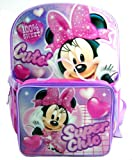 Disney Minnie Mouse Backpack with Detachable Lunch Box