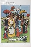 Untitled vintage poster, Elke Sommer - rare vintage signed print, 75x51cm