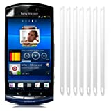 Screen Protectors LCD Guards for Sony Ericsson Neo Xperia / Pack of Five
