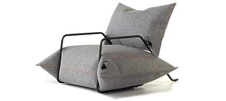 MALAFOR-Sessel-Aufblasbare Kissen in aus Filz genähten Schonbezugen! Komfortabel und klug!