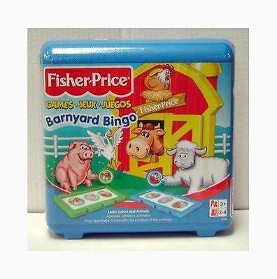 Fisher-Price Barnyard Bingo Game (Barnyard Bingo Fisher Price compare prices)