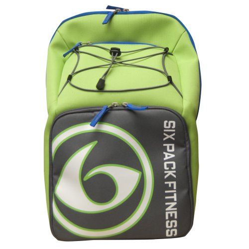 6 Pack Fitness Prodigy Pursuit 300 Backpack Lime/Gray
