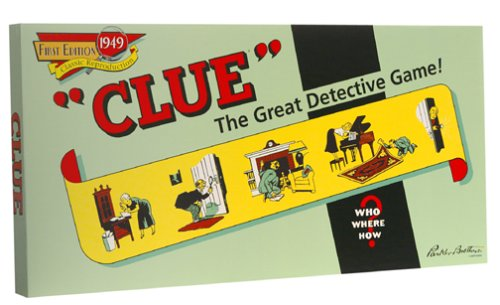 Commemorative 1949 Clue Game - Buy Commemorative 1949 Clue Game - Purchase Commemorative 1949 Clue Game (Winning Moves, Toys & Games,Categories,Games,Board Games,Mystery Games)