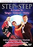 Step By Step - Volume One - Beginners to Intermediate: Foxtrot/Tango/Waltz [DVD] [2006]
